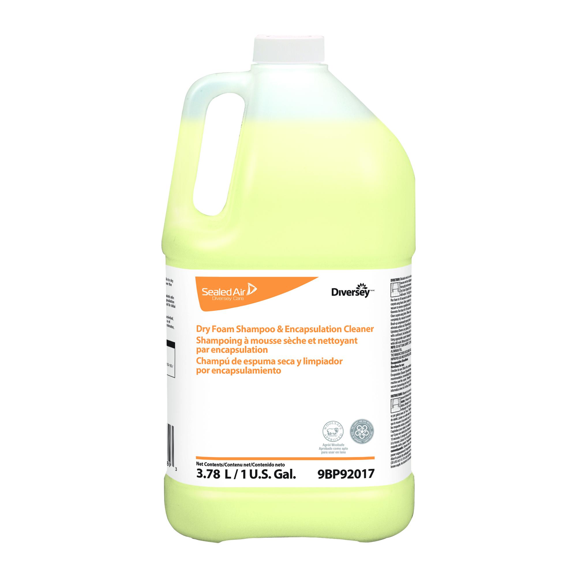 Dry Foam Shampoo Amp Encapsulation Cleaner Diversey
