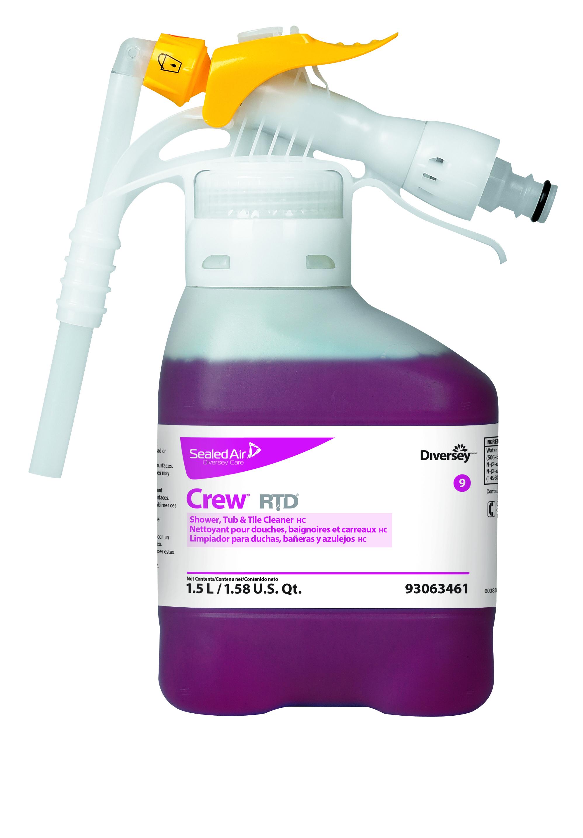 Crew® Shower, Tub & Tile Cleaner | Diversey