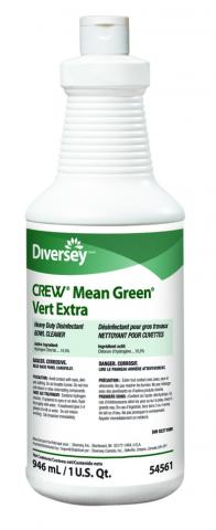 Crew 174 Mean Green Toilet Bowl Cleaner Diversey